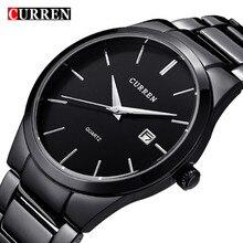 2017 Top Luxury Brand CURREN Men Full Stainless Steel Business Watches Men s Quartz Date Clock