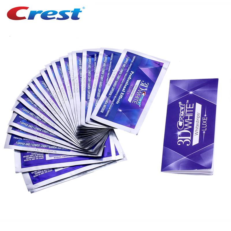 Image 3 - 3D White Whitestrips LUXE Strong Grip Professional Effects Oral Hygiene Perfect Smile Teeth Whitening Strips 5/10/20 Pouches-in Teeth Whitening from Beauty & Health