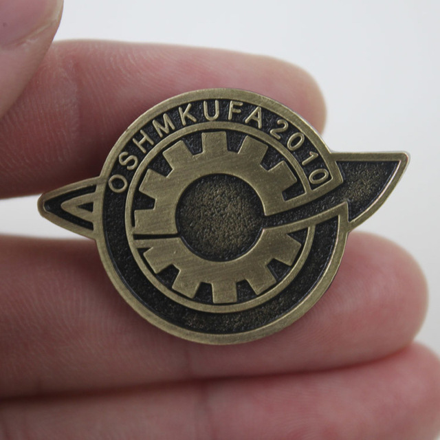 Steins Gate Cosplay Badge Pin Brooch