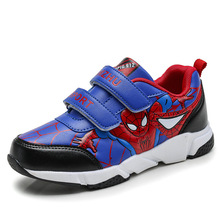 Spring Autumn Toddler Kids Spiderman Shoes Boys Pu Leather Comfy Sport Children's Shoes Sneakers School Student Shoes for Boys джефферс о великий бумажный аферист
