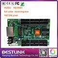 RGB LEVOU controlador de vídeo cartão de led cartão de recebimento hd-r501 huidu cartão de controle de 192*256 pixels para P10 P16 P20 ao ar livre levou exibição