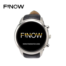 On Sale Hot Finow X5 smart watch 3G watch GPS Bluetooth 1.4″ AMOLED 400*400 Display SIM Card Heart rate smart watch PK KW18 I2