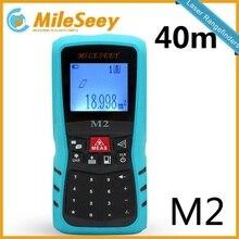 Sale Laser Digital Rangefinder M2 40M Area/Volume M/Ft/in Tool Blue Range Finder Hunting Measure Distance Tester Hot