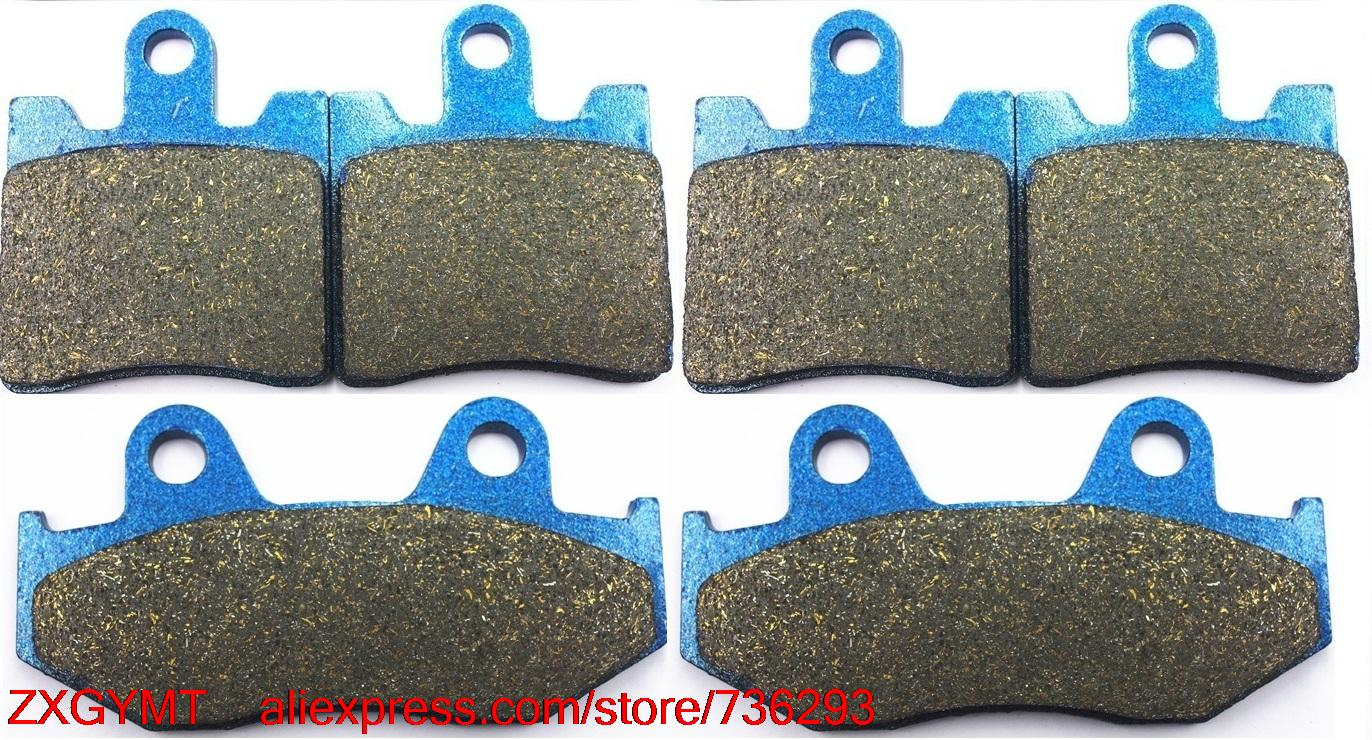 Motorcycle Semi-met Disc Brake Pads for SUZUKI AN400 AN 400 Burgman 2001 - 2006 motorcycle semi met brake pads set for honda xr250 xr 250 s r 1996