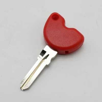 Clés de Scooter clés vierges embryon peuvent être installés puces pour Piaggio pour Vespa 3vte 125 gts gtv 250 300 Moto pièces vélo
