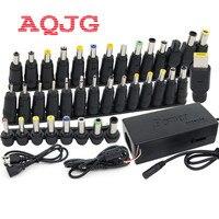 37 יחידות מחשב נייד אוניברסלי AC DC אספקת חשמל לשקע מתאם מחבר plug עבור hp IBM toshiba מחברת dell apple lenovo acer כבל