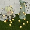 5M Waterproof Colorful Fairy Light Dandelion Ball Solar Power 20 LED String Light Outdoor Lighting Garden Christmas Party Decor