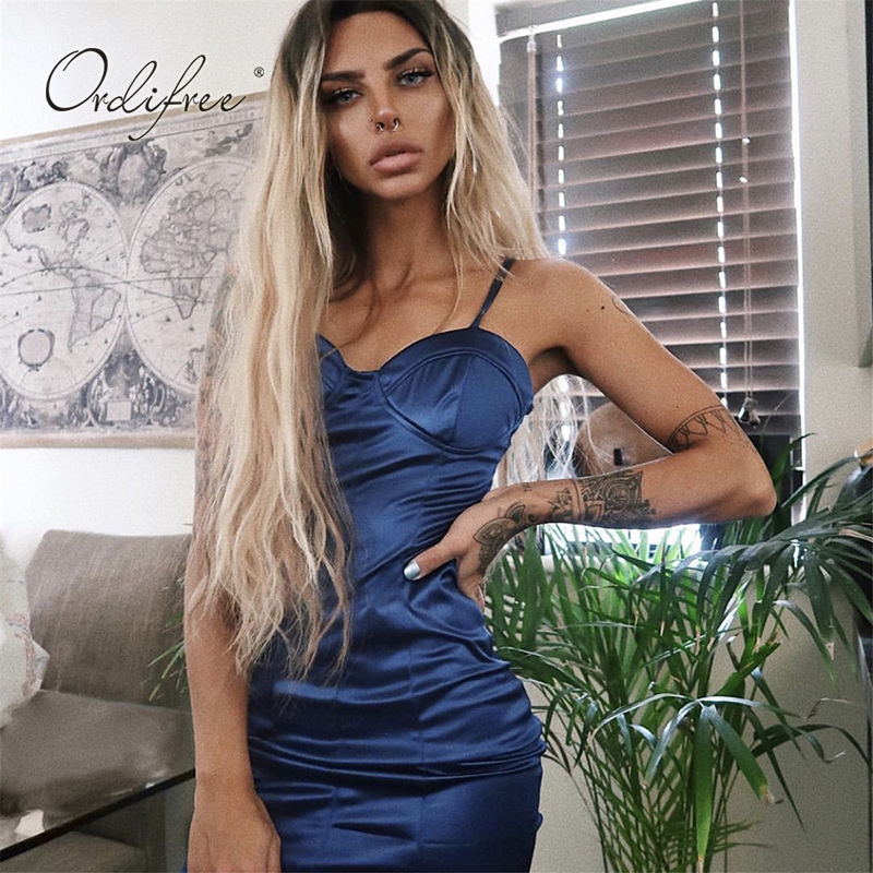 025401c9d7e04 Worldwide delivery bodycon mini dress satin in NaBaRa Online