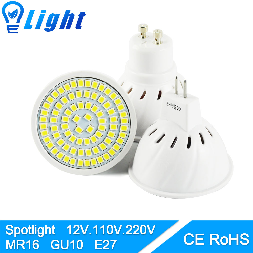 led bulb spot led lamp light gu5 3 mr16 gu10 e27 ac 220v dc 12v 6w 8w 3w 5w smd led spotlight. Black Bedroom Furniture Sets. Home Design Ideas