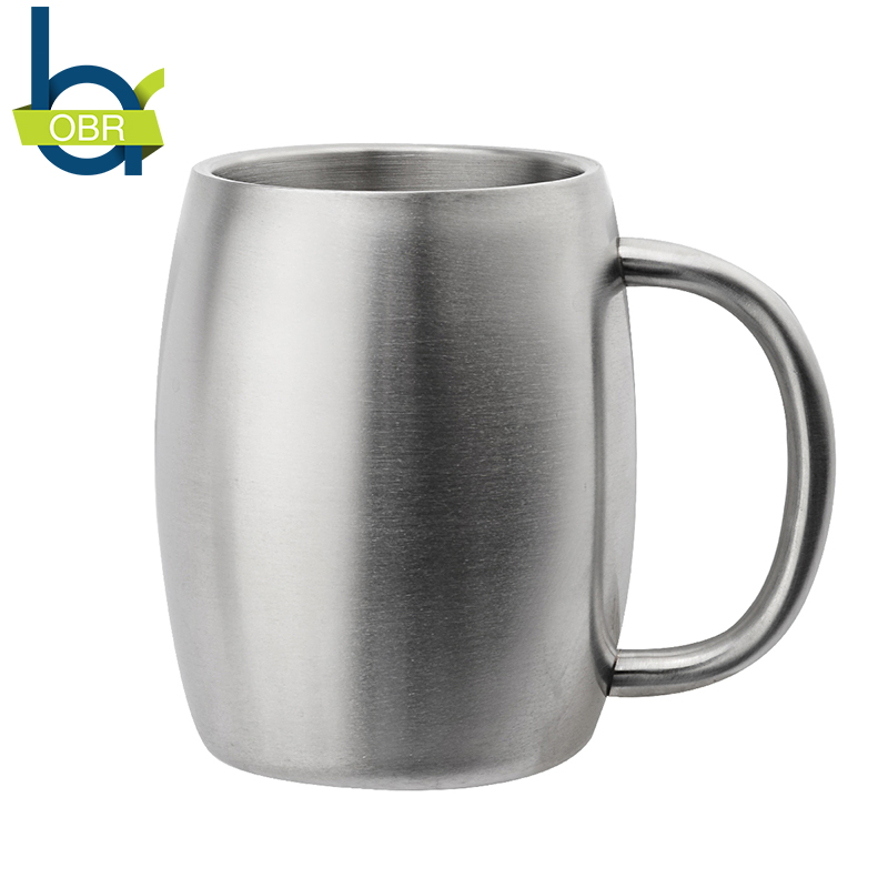OBR 14oz 400ml Stainless Steel Coffee Mug Beer <font><b>Cup</b></font> Double Wall Thermo Mug Wine Tumbler Travel Mugs for Tea <font><b>Coffe</b></font> <font><b>Cup</b></font> Moscow mule image
