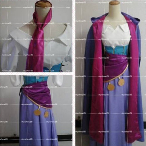 The Hunchback of Notre Dame Esmeralda dress Halloween Carnival Cosplay Costume