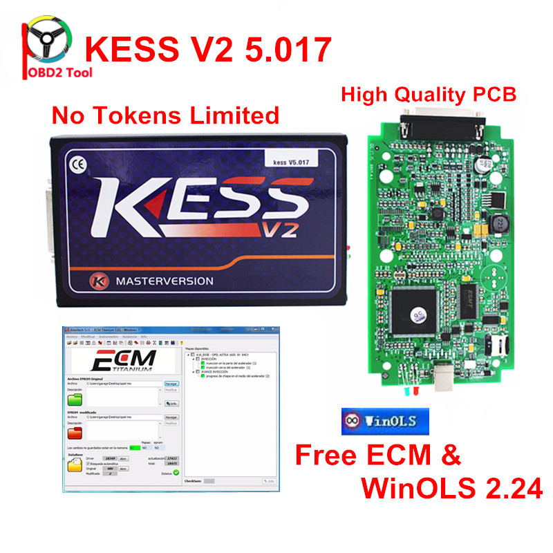 2018 онлайн версия КЕСС У5.017 КЕСС v2 5.017 нет маркер ограничение версия В7.020 к-Tag v2 в 7.020.23 ЭКЮ инструмент программирования Бесплатная доставка