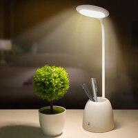 ITimo Eye Protection Table Light Flexible Book Reading Light USB Power LED Desk Lamp Touch Sensor