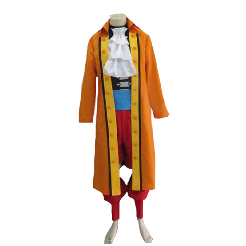 ONE PIECE Film Z Brook Cosplay Costume with hat and gloves