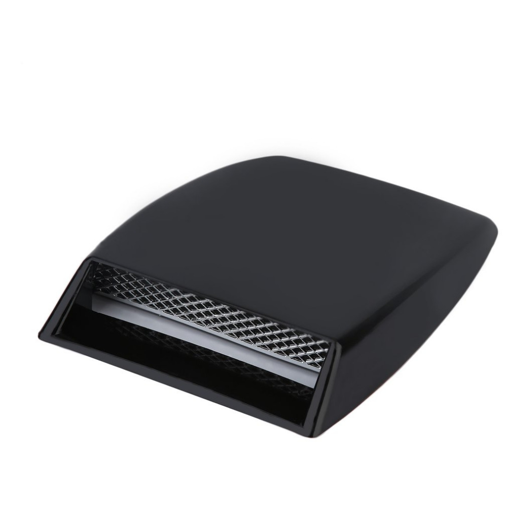 Universal Unique and Outstanding Auto Car Engine Air Flow Vent Plastic Sticker Hood Scoop Decorative Cover Car styling Hot car styling universal abs plastic hood vents gtr type for any vehicle in stock