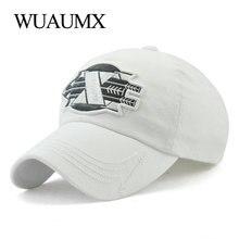 Wuaumx Brand Summer Baseball Caps Men Women Cotton Dad Hat Curved Trucker  Cap Arrow Element Bone 76f36b9312b