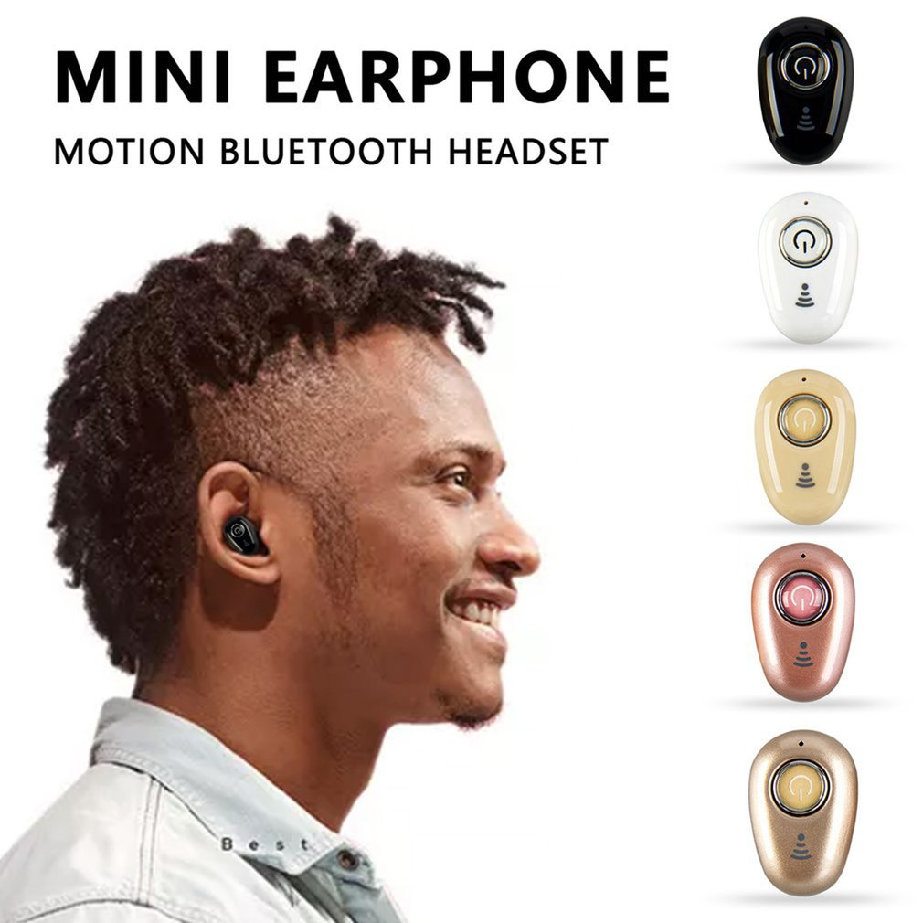 Mini Stylish Headset Bluetooth 4.1 High Earphones Sound Effect Music Wireless Sports Running Earphones For Mobile Phones