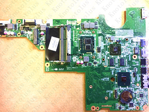 634649-001 for HP G42 CQ42 CQ62 laptop motherboard DAAX1JMB8C0 I3 CPU DDR3 Free Shipping 100% test ok for hp laptop motherboard 6570b 686976 001 motherboard 100% tested 60 days warranty
