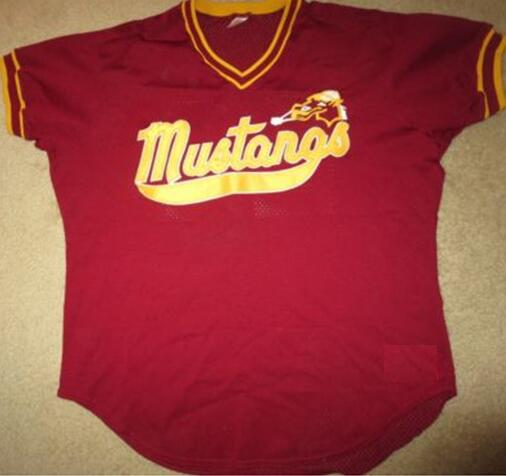 outlet store 9f06d 9537a US $40.0 |SexeMara Mustangs #22 Minor League Baseball Rawlings jerseys  custom any name number-in Basketball Jerseys from Sports & Entertainment on  ...