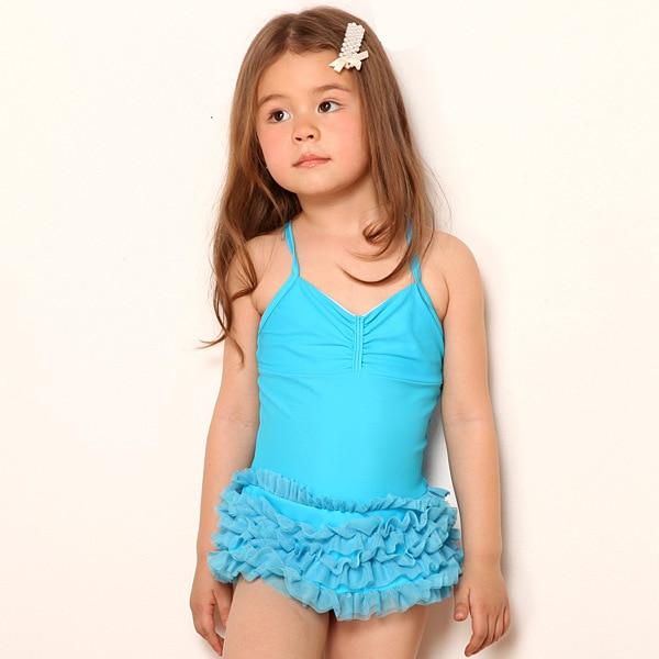 2015 children's bathing suits child one piece Beachwear ...
