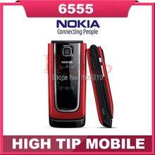 Телефон 6555, nokia марка классическая перевёрнутый клеток с отремонтированный