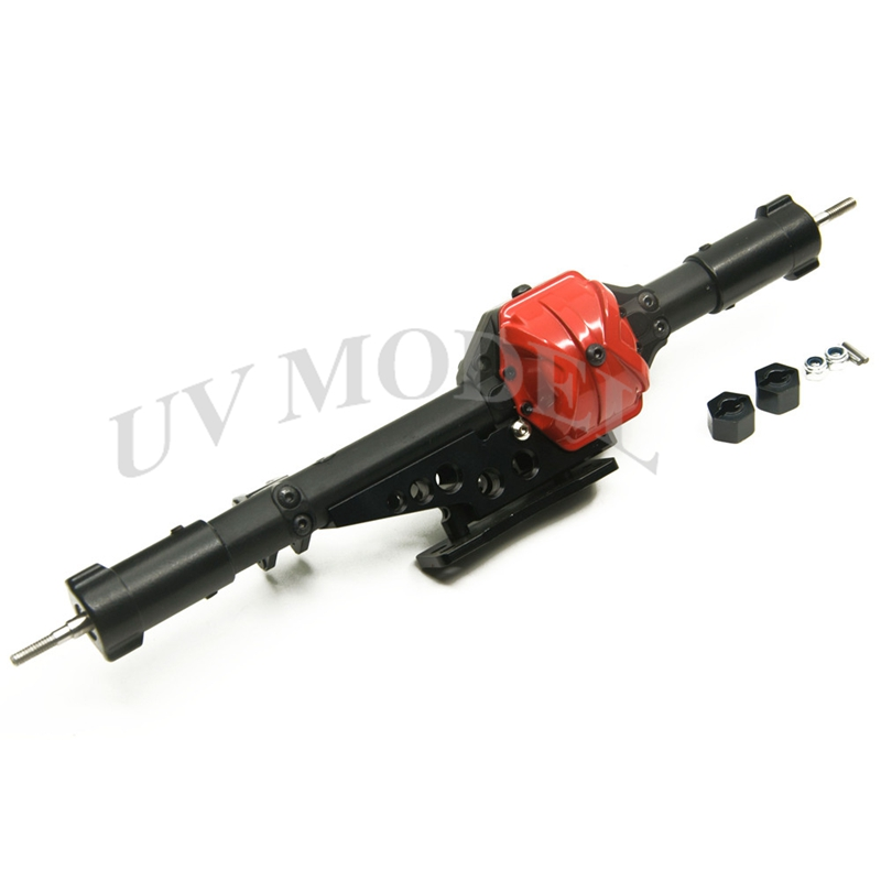 RC 1/10 Rock Crawler Car Parts Axle Alloy Aluminum Rear Axle For RC Axial Wraith Car Rock Assembled Wraith Metal Back Axles набор охладительных рубашек для вина и игристых вин vacu vin платина