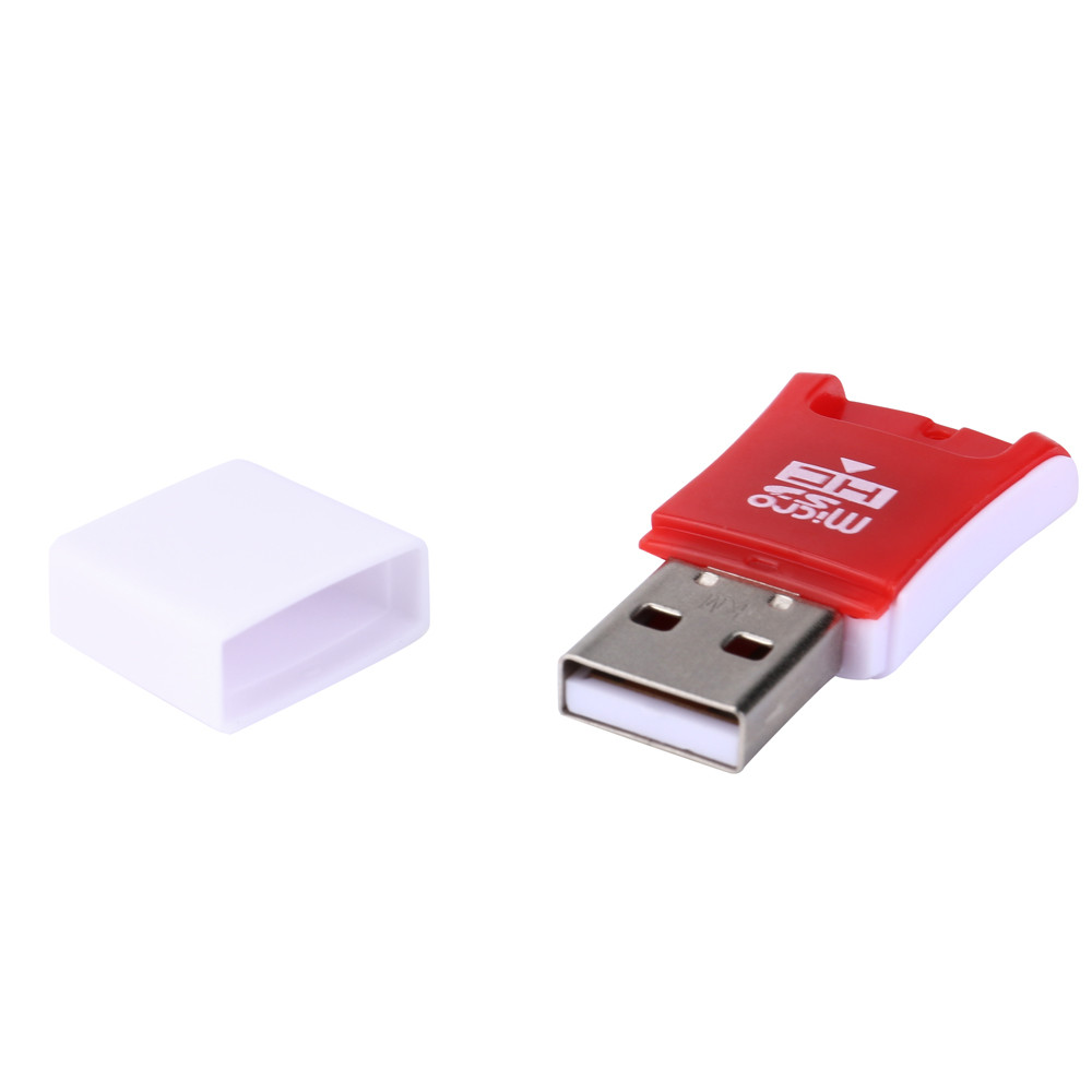 Practical Mini Micro USB 2.0 SD SDHC SDXC TF T-Flash Memory Card Reader Adapter