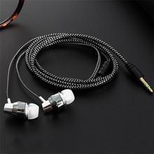 Universal 3.5mm In-Ear Stereo Earbuds Earphone For Cell Phon