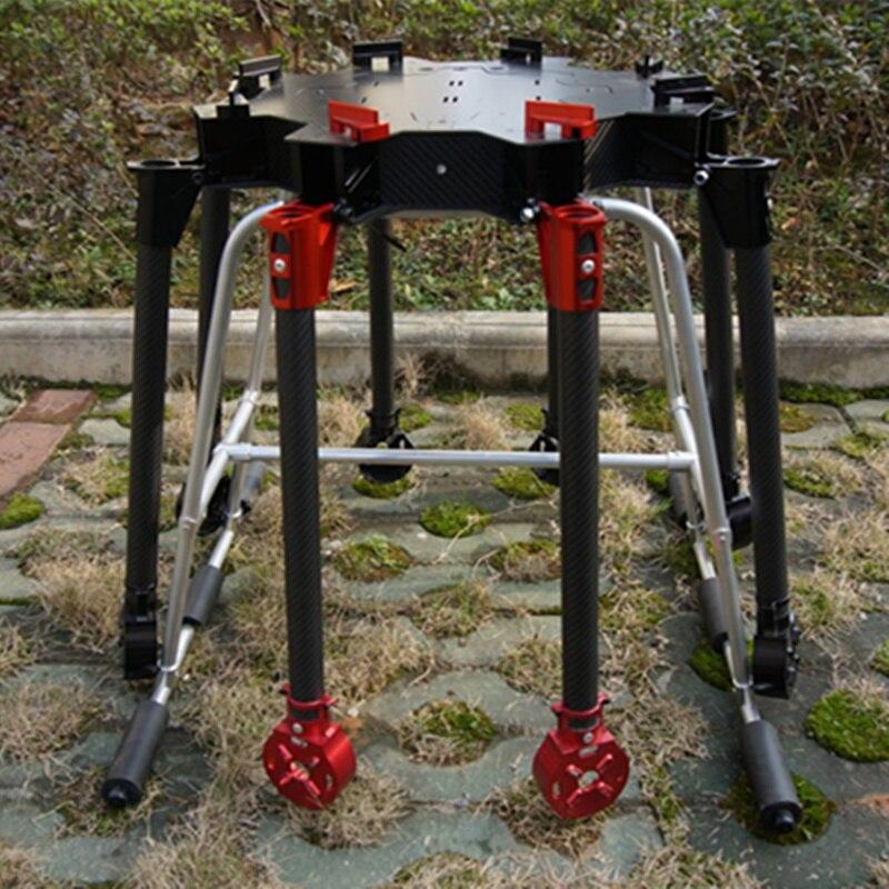 8 eixo 10 KG 10L não tripulados RC zangão vazio quadro de fibra de carbono Névoa de Pulverização Agrícola Agricultura Máquina quadro UAV