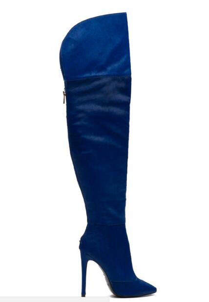 Online Get Cheap Knee High Boots Back Zip -Aliexpress.com ...