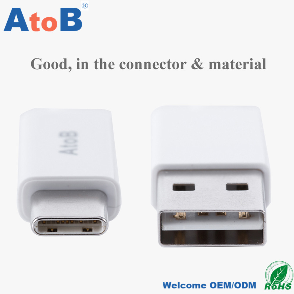 AtoB Hi-speed USB to USBC Cable 3.3ft for MacBook,ChromeBook Pixel,Nexus,Lumia Samsung LG Huawei Mexzu Vivo Oppo HTC ZTE Xiaomi