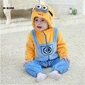 Easter bebê flanela roupas de inverno romper do bebê macacão para menina menino assecla macio hello kitty traje cosplay para 0-2a infantil
