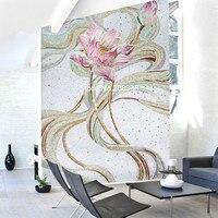 Красочные лотоса мозаика Плитки