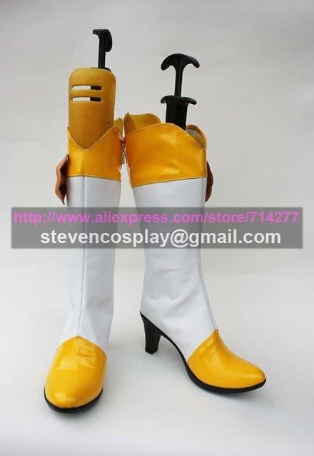Maßgeschneiderte Günstige Lächeln Pretty Cure Heilung Frieden Cosplay Stiefel Cosplay Schuhe Halloween