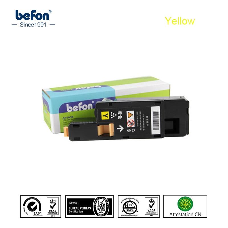 Befon Compatible Jaune Y Cartouche De Toner Compatible pour Xerox Phaser 6000 6010 WorkCentre 6015 6015 V Imprimante