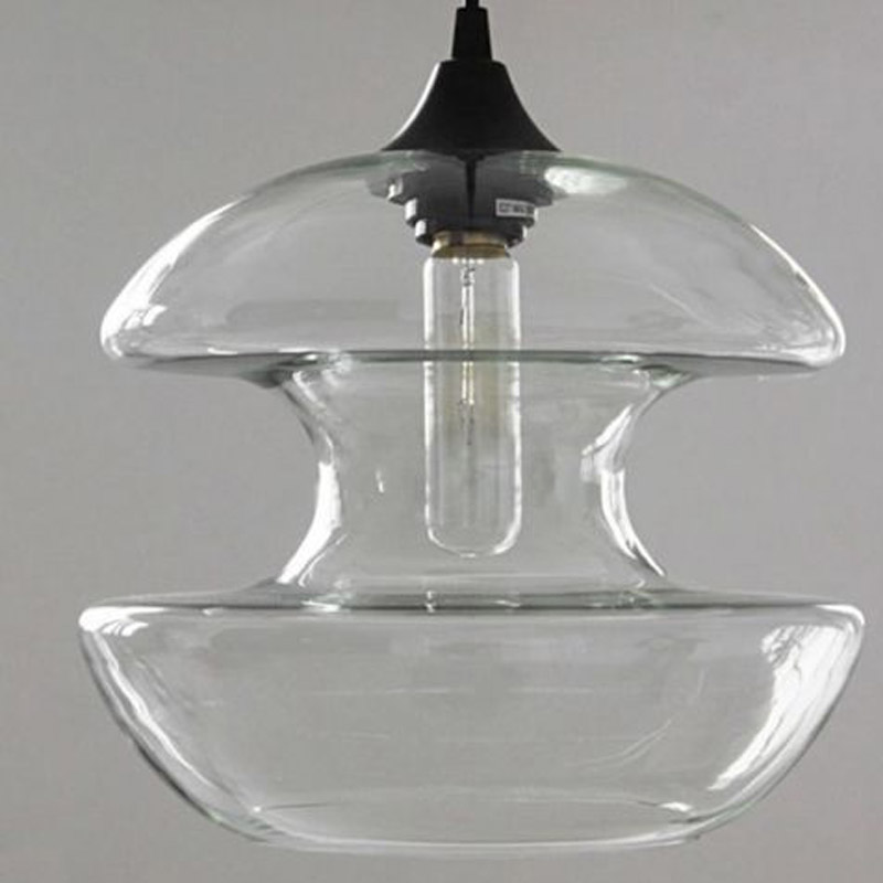 Lights & Lighting New Loft Vintage Edison Bulb Glass Diabolo Pendant Lamp Light Bar Ac90-260 Novelty Fixtures Lighting Restaurant Attractive Fashion