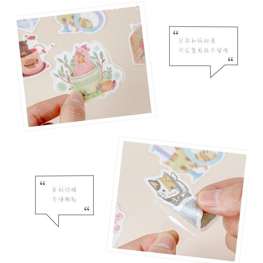 12 pacotes lote kawaii verão concerto série