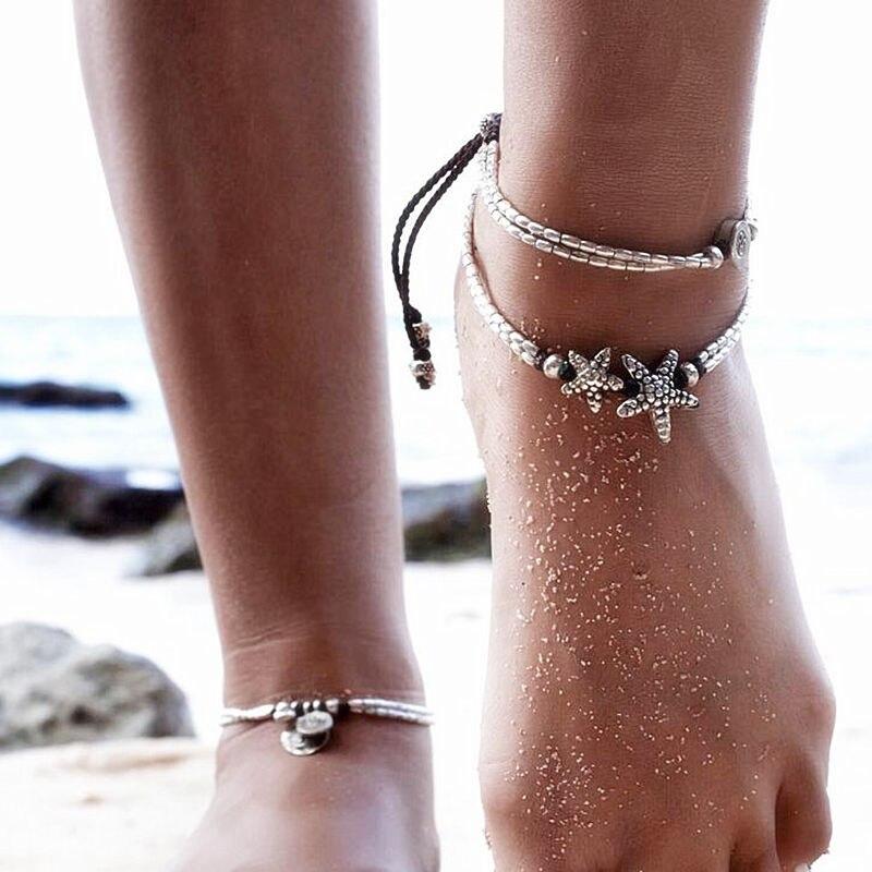 weiwei Bracelets lat/éraux en Dames d/ét/é Pantalons d/écontract/és Creux