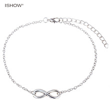 Hot seeling fashion anklet for woman barefoot sandals jewelry silver plated mujeres pulsera tobillera silver foot jewelry 2016
