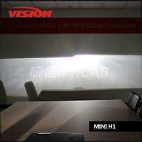 Free Shipping IPHCAR Car Styling 12V 35W Blue Angel Eyes Xenon Lens H1 H7 H11 Projector