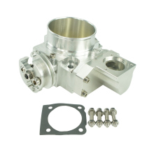NEW THROTTLE BODY FOR Mitsubishi EVO 4G63 70mm CNC Intake Manifold Throttle Body evo7 evo8 evo9