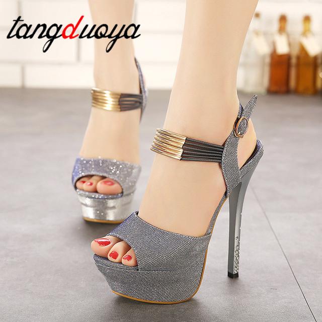 women's shoes high heels platform women shoes heel sandals sexy women pumps peep toes in heels for women tacones plataforma