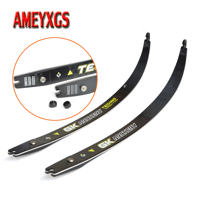 1pair 68inch Archery ILF Bow Limbs 18-38lbs Recurve Bow Carbon Material Right Hand Bow Limbs For Hunting Shooting Accessories