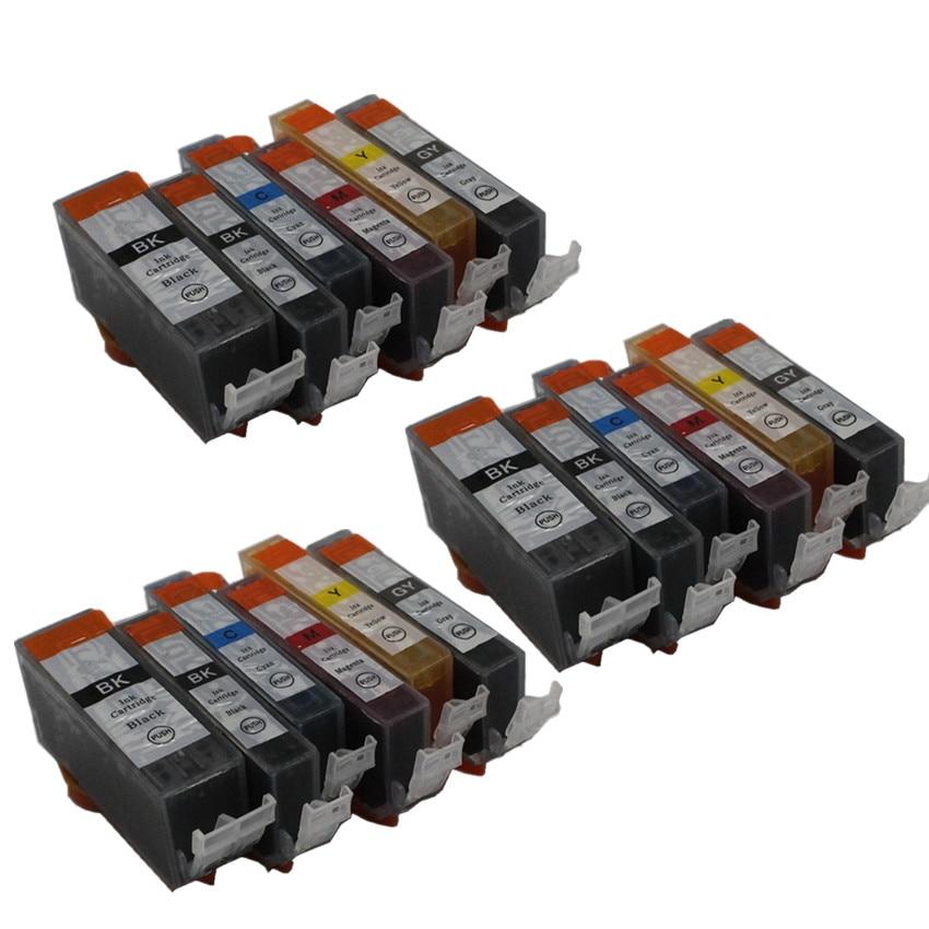 6 color PGI-425 425BK CLI 426 GY compatible ink cartridge For canon PIXMA  MG6140 MG6240 MG8140 MG8240 printers 6 color PGI-425 425BK CLI 426 GY compatible ink cartridge For canon PIXMA  MG6140 MG6240 MG8140 MG8240 printers