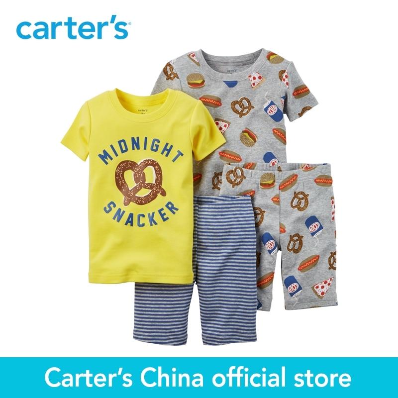 Carter s 4pcs baby children kids 4 Piece Snug Fit Cotton PJs 321G087 sold by Carter