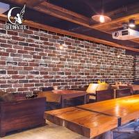 Suppliers High Quality 3d brick wallpaper stone wall paper faux brick wallpaper 3d Living Room wallpaper Sofa TV Background