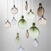 D25cm Modern Chandelier Pendant Room Dining Glass Lollipop Pendant Lamp Nordic For Restaurant Decor For Kitchen