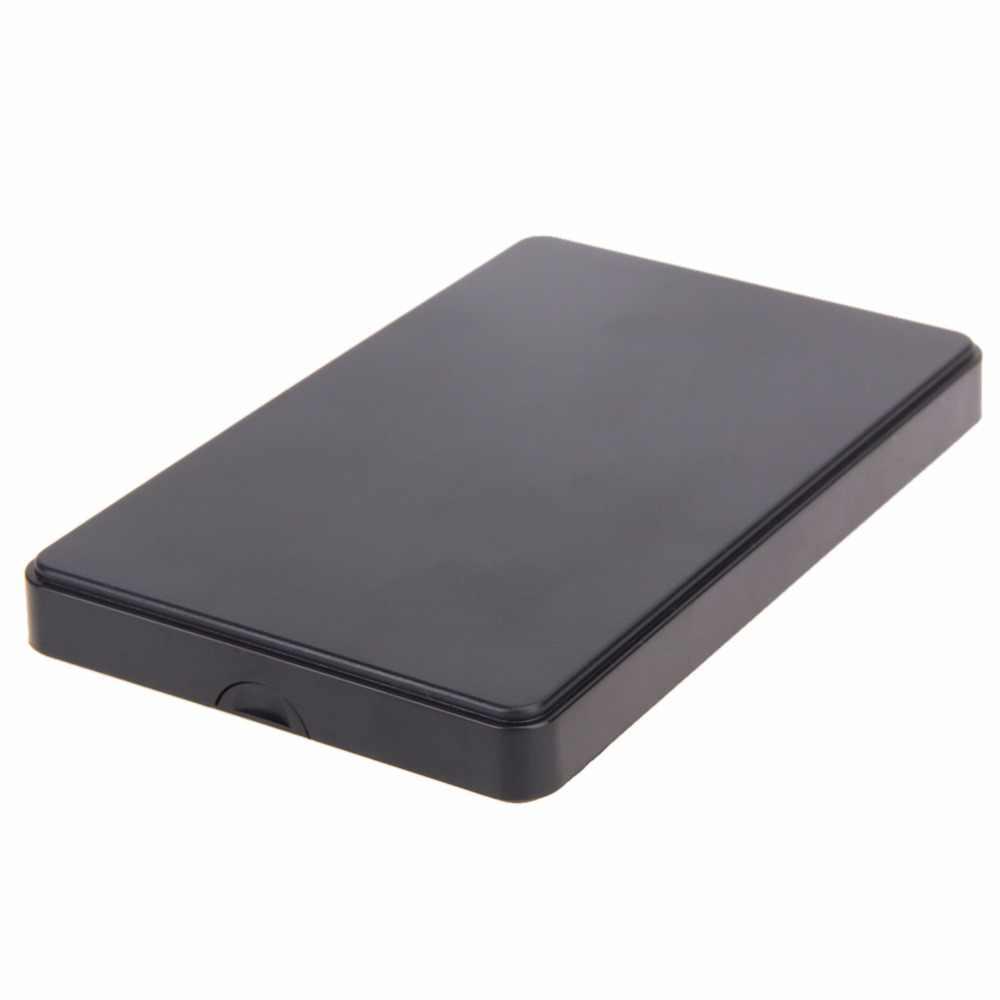 """Внешний HDD корпус для жесткого диска USB2.0 Sata портативный чехол 2,5 """"дюймовый Hdd жесткий диск чехол Высокое качество Черный HDD коробка горячая распродажа"""
