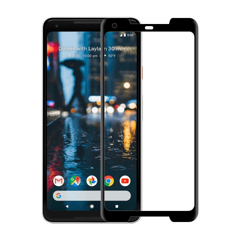 For Google Pixel 2 0.3mm 2.5D 3D Curved Full Cover 9H Tempered Glass Screen Protector For pixel2 XL 3d Full Coverage