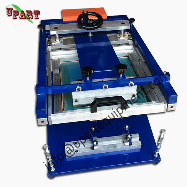 Single Color Glass Bottle Screen Printing Machine For Sale